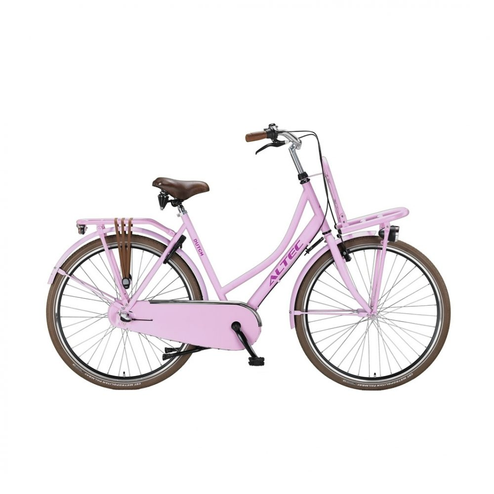 Altec-Dutch-28-inch-Transportfiets-Hot-Pink-57-cm