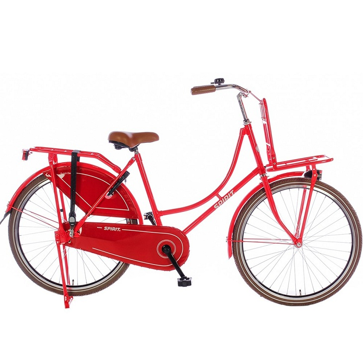 spirit omafiets 26 inch rood