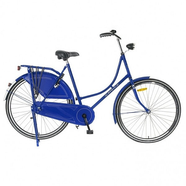 Popal omafiets 28 inch blue
