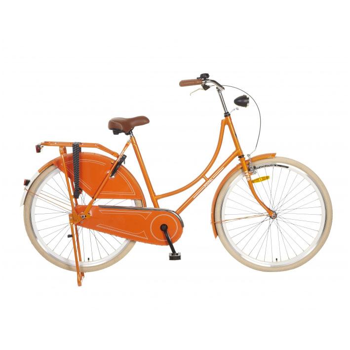 Popal omafiets 28 inch orange