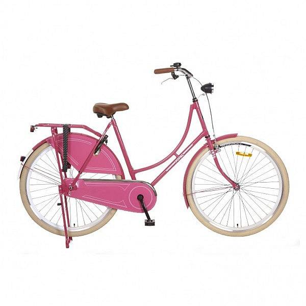 Popal omafiets 28 inch pink