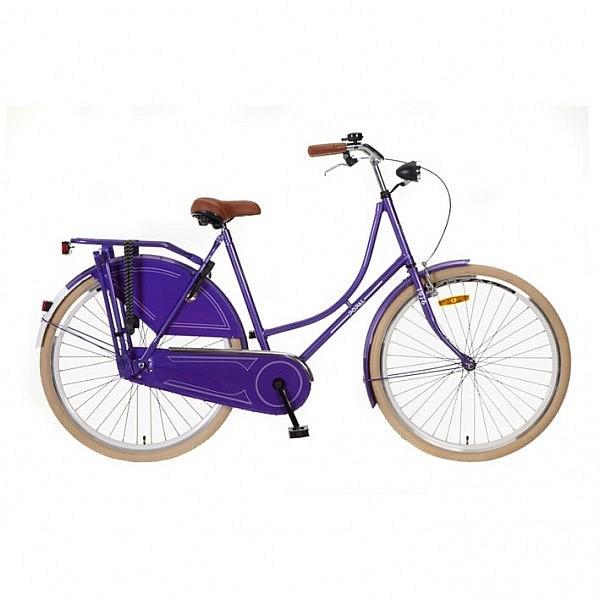 Popal omafiets 28 inch purple