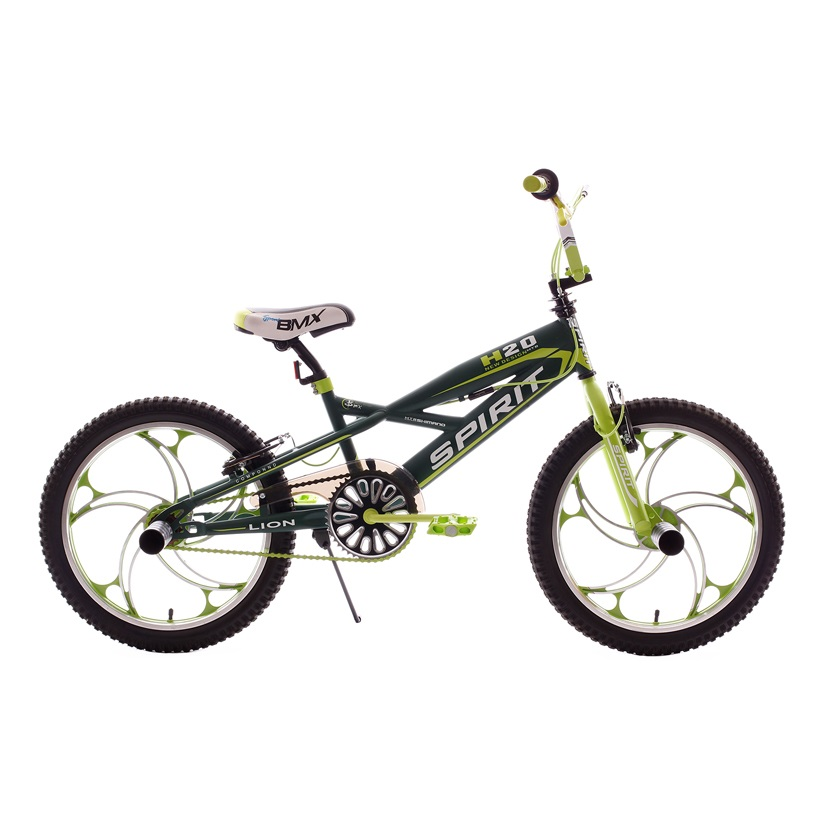 Spirit lion bmx 20 inch green