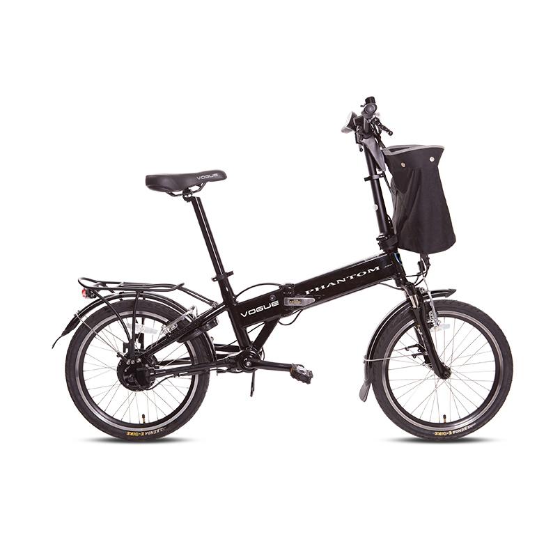 Vogue Phantom E-bike vouwfiets 20 inch black