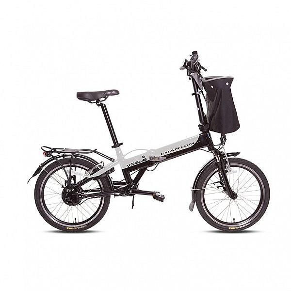 Vogue Phantom E-bike vouwfiets 20 inch silver