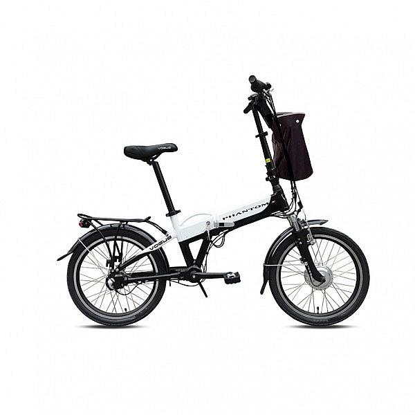Vogue Phantom N3 E-bike vouwfiets 20 inch Silver