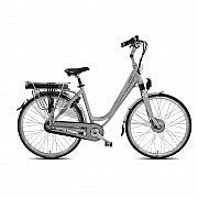Vogue glamour N8 E-bike Damesfiets 28 inch silver