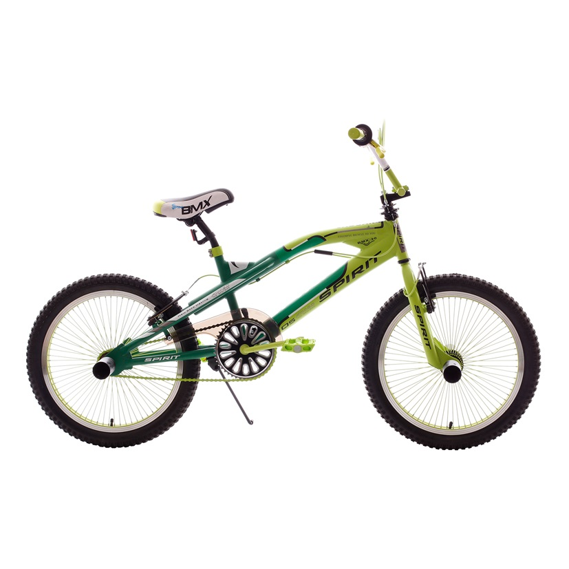 spirit jaguar bmx 20 inch green
