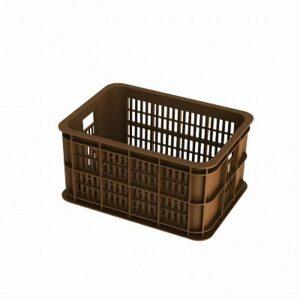 basil-crate-s-fietskrat-25l-saddle-brown