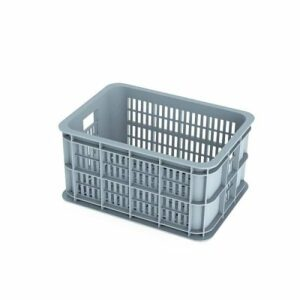 basil-crate-s-fietskrat-25l-silver-cloud